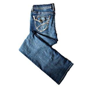 2/$15 sale! 👖A.n.a. thick stitch boot cut jeans.